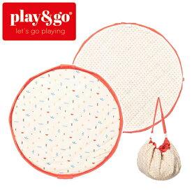 正規品 play&go(プレイアンドゴー) [2in1ストレージバッグ&プレイマット ソフト アイコン] ベビーマット おもちゃ 収納