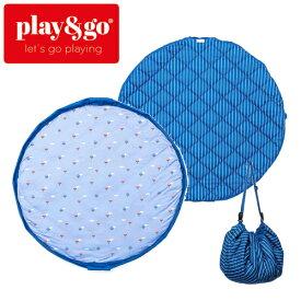正規品 play&go(プレイアンドゴー) [2in1ストレージバッグ&プレイマット ソフト バルーン] ベビーマット おもちゃ 収納