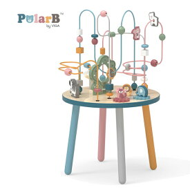 正規品 Polar B(ポーラービー) [ビーズテーブル] 知育玩具 2歳 ルーピング