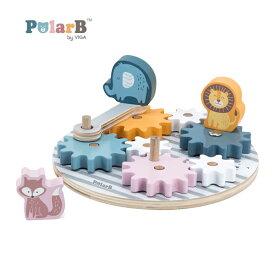 正規品 Polar B(ポーラービー) [くるくるギア] 知育玩具 1歳
