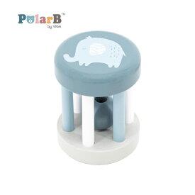 正規品 Polar B(ポーラービー) [ラトル ぞう] 木のおもちゃ 木製玩具