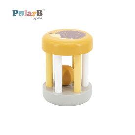 正規品 Polar B(ポーラービー) [ラトル はりねずみ] 木のおもちゃ 木製玩具