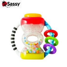 正規品 Sassy(サッシー) すなどけいラトル おもちゃ ラトル 玩具 歯固め