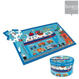 正規品 Scratch(スクラッチ) パズル 60ピース フェリーボート