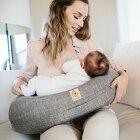 授乳クッションエルゴベビー[ナチュラルカーブ・ナーシングピローグレー]エルゴ授乳まくら