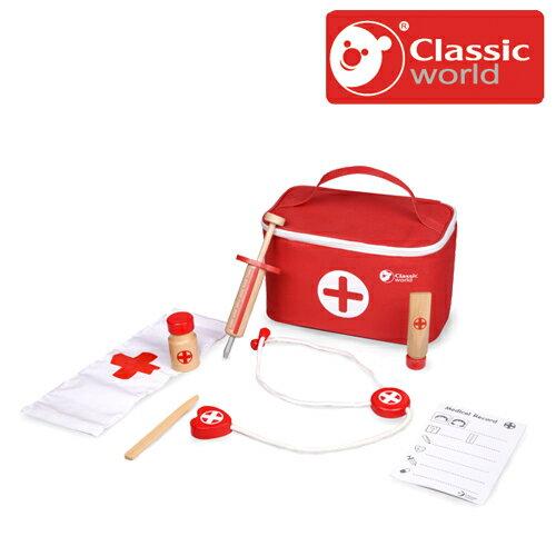 正規品 Classic(クラシック) [ドクターケース] [あす楽対応] 木製玩具 木のおもちゃ おままごと お医者さんセット お医者さんごっこ 木製