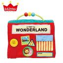 正規品 エド・インター [ワンダーランド] [あす楽対応] 布絵本 おもちゃ 布おもちゃ 布えほん エドインター