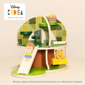 正規品 Disney KIDEA(キディア) HOUSE [くまのプーさんとなかまたち] [あす楽対応] 積み木 つみき 木のおもちゃ 木製玩具 出産祝い
