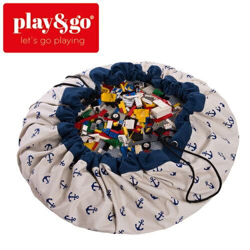 play&go(プレイアンドゴー) [アンカー] 2in1ストレージバッグ&プレイマット プリント [あす楽対応] /ベビーマット/プレイマット/
