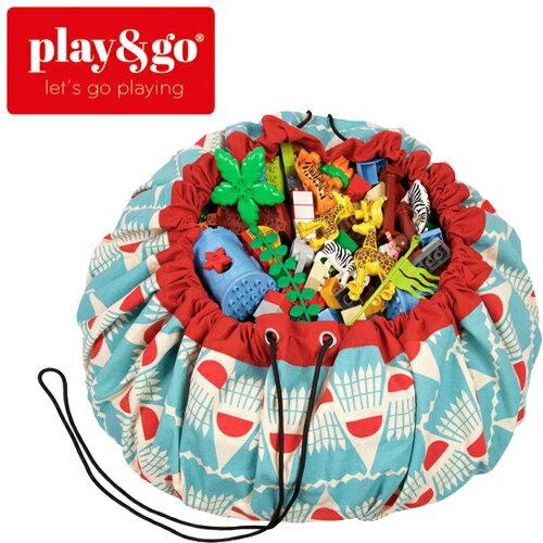 play&go(プレイアンドゴー) [バドミントン] 2in1ストレージバッグ&プレイマット デザイナーコラボ [あす楽対応] /ベビーマット/プレイマット/