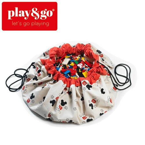 正規品 play&go(プレイアンドゴー) [ミッキークール] 2in1ストレージバッグ&プレイマット ディズニー [あす楽対応] /ベビーマット/プレイマット/