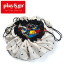 正規品 play&go(プレイアンドゴー) [ロードマップ] 2in1ストレージバッグ&プレイマット プリント [あす楽対応] /ベ…