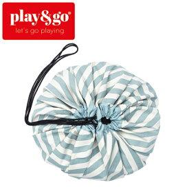 正規品 play&go(プレイアンドゴー) [ストライプ グリーン] 2in1ストレージバッグ&プレイマット [あす楽対応] ベビーマット プレイマット おもちゃ 収納