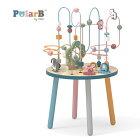 正規品PolarB(ポーラービー)[ビーズテーブル][あす楽対応]木製玩具知育玩具2歳木のおもちゃ