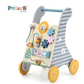 正規品 Polar B(ポーラービー) [ベビーウォーカー] [あす楽対応] 手押し車 木製玩具 知育玩具 1歳 木のおもちゃ