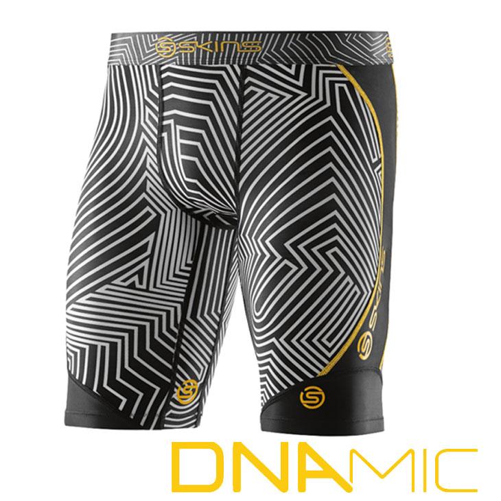 スキンズ メンズ ハーフタイツ skins DNAmic Half Tights COLLABO【正規品】 コンプレッション インナー