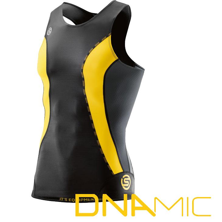 スキンズ メンズ スリーブレス トップ skins DNAmic コンプレッション インナー 【正規品】