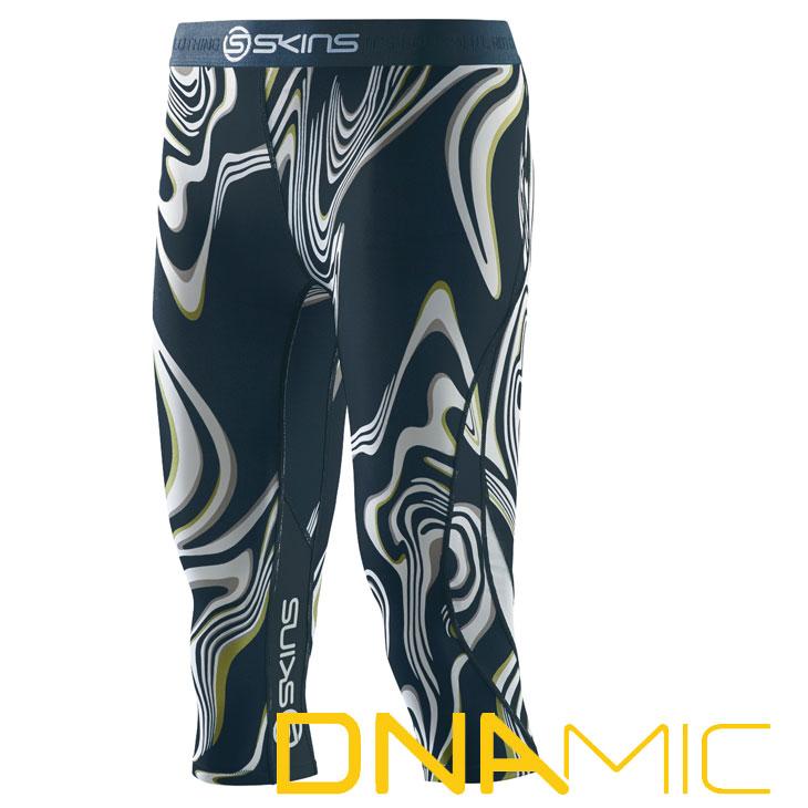 スキンズ レディース タイツ 3/4 skins DNAmic Tights COLLABO コンプレッション 【正規品】