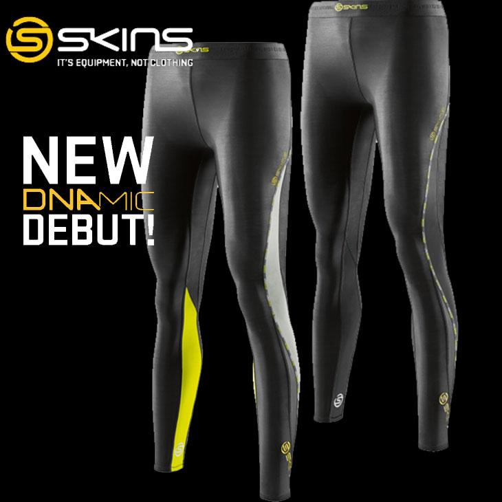 スキンズ ディーエヌエーミック skins DNAmic レディース ウィメンズ ロングタイツ Long Tights 【正規品】【Newモデル】 コンプレッション インナー 【あす楽_年中無休】【メール便可】