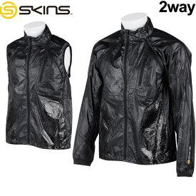 スキンズ skins トレーニングウェア ウィンドジャケット Synchro (シンクロ ) メンズ 【SRS5502】【返品種別OUTLET】