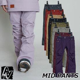 20-21 AA ダブルエー レディースウエアー MID PANTS ミッドパンツ ship1【返品種別OUTLET】