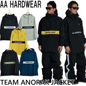21-22 AA ダブルエー メンズ ウエアー TEAM ANORAK JACKET チーム アノラック ジャケット 予約販売品 11月入荷予定 ship1