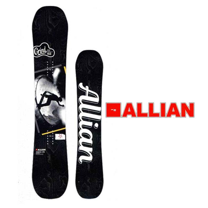 18-19 ALLIAN (アライアン )【GRIND 】グラインド スノーボード 板 snow board 予約販売品