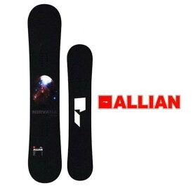 18-19 ALLIAN (アライアン )【NIRVANA 】ニルヴァーナ スノーボード 板 snow board ship1【返品種別OUTLET】