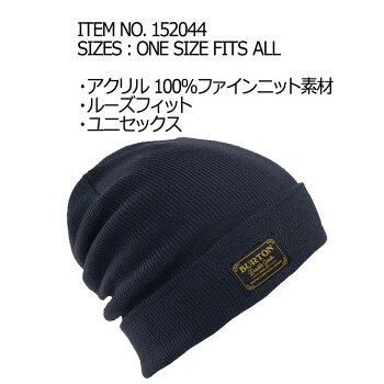 16-17BURTONバートンMENSメンズ【KACTUSBUNCHTALLBEANIE】スノーボードビーニー帽子「メール便可」日本正規品
