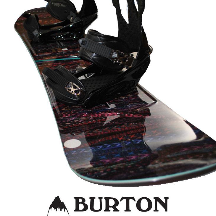 バートン セット BURTON スノーボード 2点セット 17-18【Feather 】ボード × 【Citizen Re:Flex 】ビンディング 【正規品 2点セット 】【返品種別OUTLET】