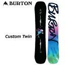 19-20 BURTON バートン メンズ スノーボード 【Custom Twin 】 【日本正規品】 【返品種別OUTLET】ship1