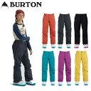 18-19 BURTON バートン キッズ ウエア KIDS 子供用 スノー ウエアー 【Girls' Burton Sweetart Pant】パンツ 【7-15才…