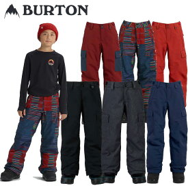 18-19 BURTON バートン キッズ ウエア 【Boys' Exile Cargo Pant 】パンツ 【返品種別OUTLET】