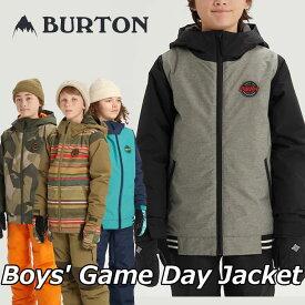19-20 BURTON バートン キッズ スノーボード ジャケット Boys【Game Day Jacket 】(110/126/140/150/164) 日本正規品【返品種別OUTLET】