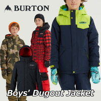 19-20BURTONバートンキッズスノーボードジャケットBoys【DugoutJacket】(110/126/140/150/164)日本正規品