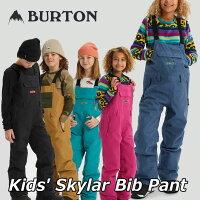 19-20BURTONバートンキッズスノーボードパンツKids【SkylarBibPant】(110/126/140/150/164)日本正規品