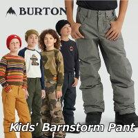 19-20BURTONバートンキッズスノーボードパンツKids【BarnstormPant】(110/126/140/150/164)日本正規品