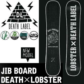 2016-17 DEATH LABEL单板滑雪(死亡标签)死亡龙虾snowboard单板滑雪板板