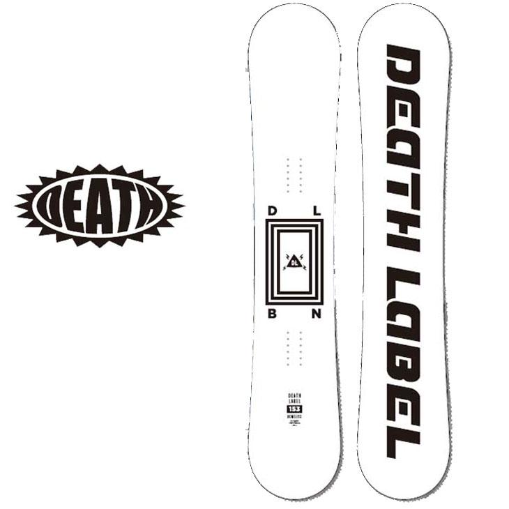 18-19 DEATH LABEL ( デスレーベル )【BONELESS 】 ボーンレス スノーボード 板 snow board 予約販売品