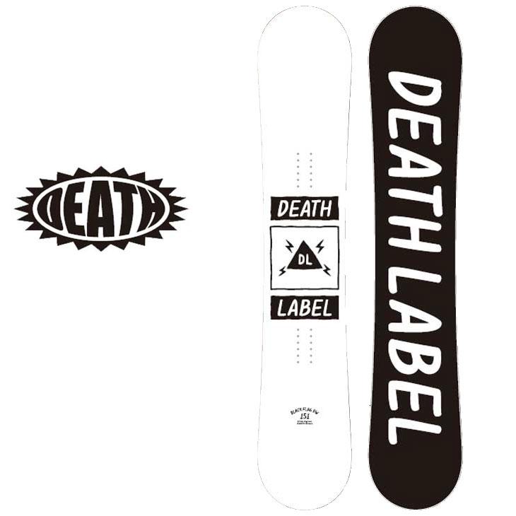 18-19 DEATH LABEL ( デスレーベル )【BLACK FLAG DW 】 ブラックフラッグ スノーボード 板 snow board 予約販売品