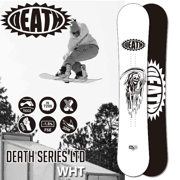 18-19 DEATH LABEL ( デスレーベル )【DEATH SERIES LTD WHT 】 デスシリーズ リミテッド ホワイト スノーボード 板 snow board 予約販売品