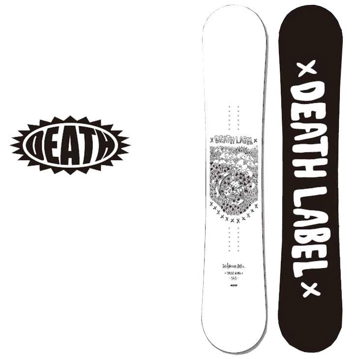 18-19 DEATH LABEL ( デスレーベル )レディース 【TRUST GIRLS WING 】 トラストガールズ ウイング スノーボード 板 snow board 予約販売品