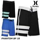 HURLEY ハーレー メンズ サーフパンツ PHANTOM BP 18 (CJ5090 )【返品種別OUTLET】