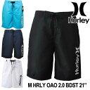 Hurley ハーレー サーフパンツ 海パン 水着 M HRLY OAO 2.0 BDST 21インチ (MBSOAOSS) メンズ 春夏モデル 正規品