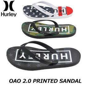 HURLEY ハーレー メンズ ビーチサンダル OAO 2.0 PRINTED SANDAL (CJ1624)