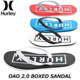 HURLEY ハーレー メンズ ビーチサンダル OAO 2.0 BOXED SANDAL (CJ1630)