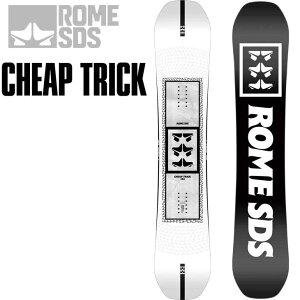 21-22 ROME ローム スノーボード CHEAP TRICK キャンバー 予約販売品 11月入荷予定 ship1