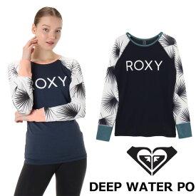 ROXY ロキシー ラッシュガード 長袖 DEEP WATER PO (RLY191016) レディース 2019春夏【返品種別OUTLET】