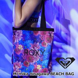 ROXY ロキシー レディース トートバッグ M/mika ninagawa BEACH BAG(BG192006) レディース【返品種別OUTLET】