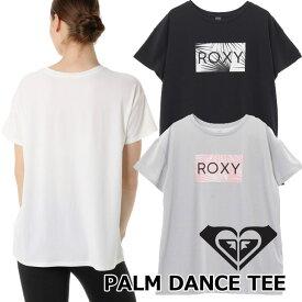 ROXY ロキシー ラッシュガード 半袖 レディース UVカット ラッシュ Tシャツ PALM DANCE TEE (RLY191026) 2019春夏【返品種別OUTLET】